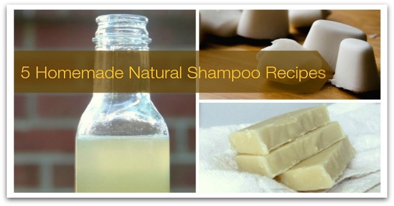 5 Homemade Natural Shampoo Recipes-H