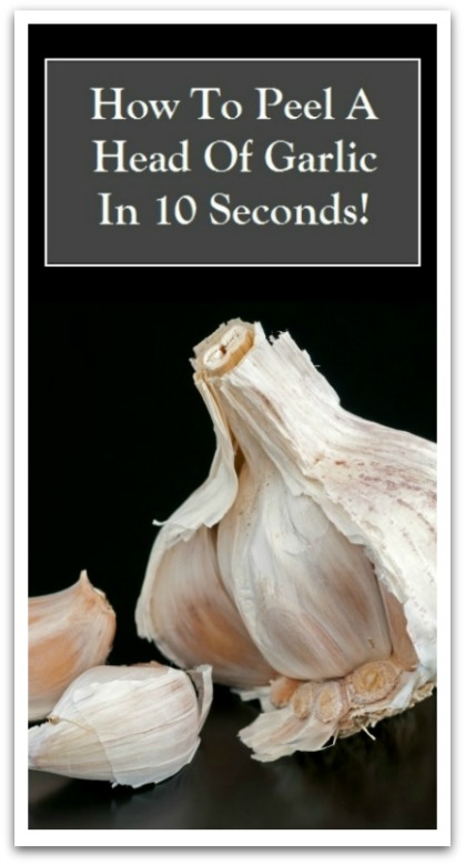 How To Peel Garlic 10 Secs-V