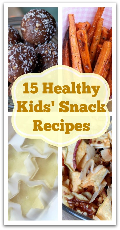 15 Healthy Kids' Snack Recipes