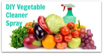 DIY Vegetable Cleaner Spray