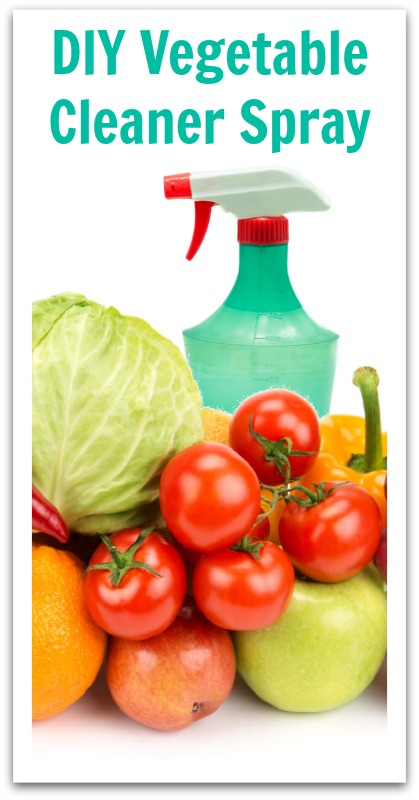 DIY Vegetable Cleaner Spray