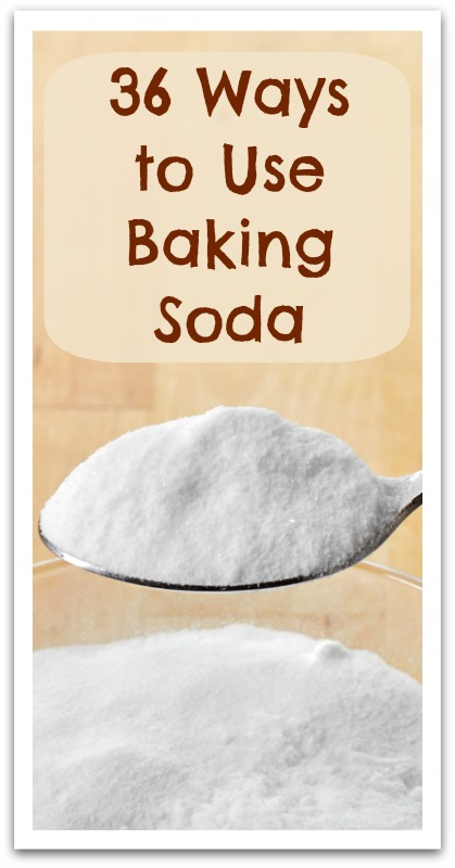 36 Ways to Use Baking Soda