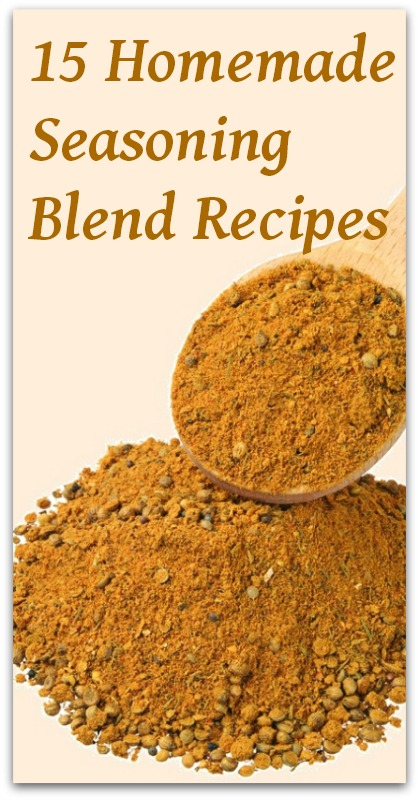 15 Homemade Seasoning Blend Recipes