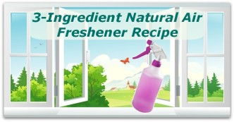 3-Ingredient Natural Air Freshener Recipe