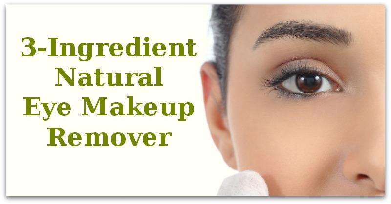 3-Ingredient Natural Eye Makeup Remover