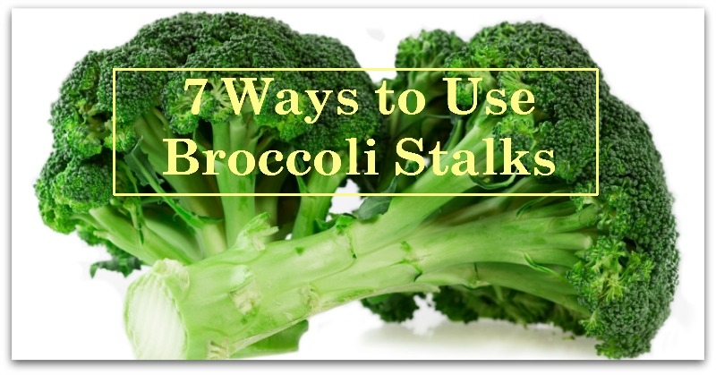 7 Ways to Use Broccoli Stalks