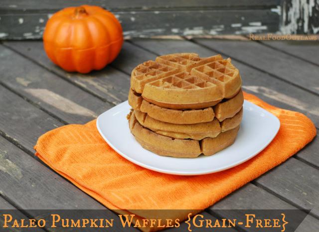 Paleo-Pumpkin-Waffles