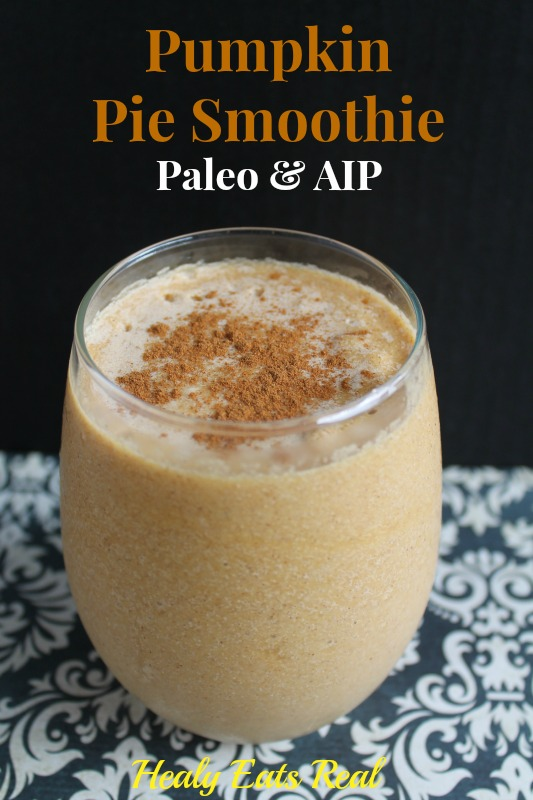 Pumpkin Pie Smoothie AIP