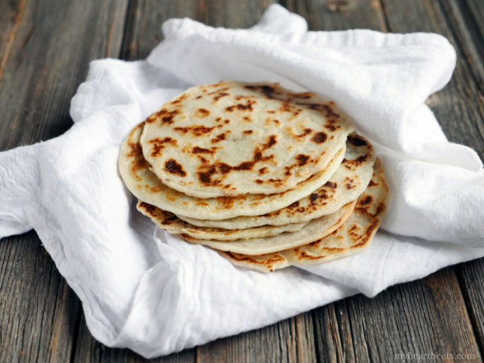 3 Ingredient Paleo Naan (Indian Bread) - Natural Holistic Life