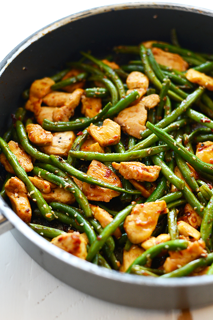 ... this Paleo Kung Pao Chicken. It's flavorful and packed with protein