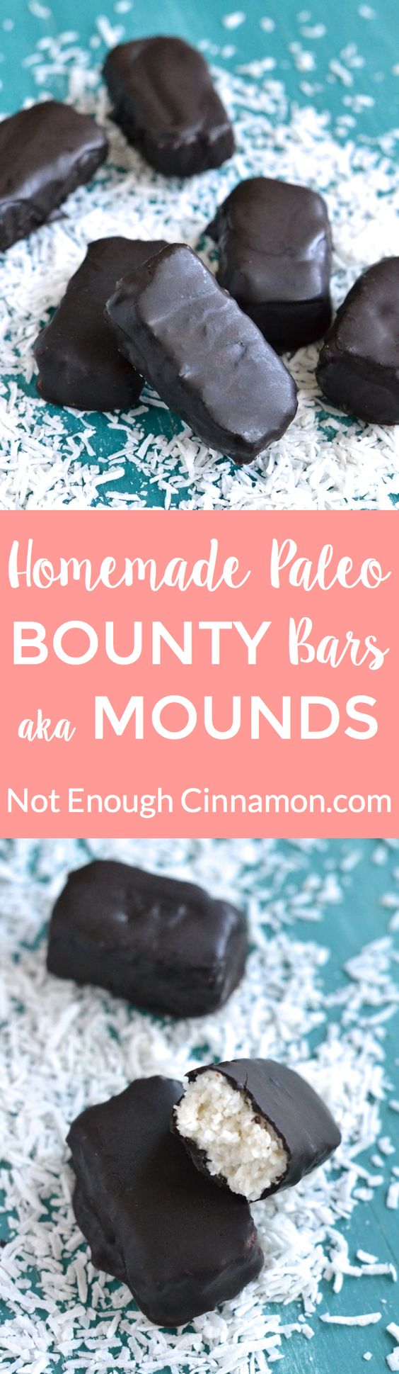 homemade bounty bars aka mounds