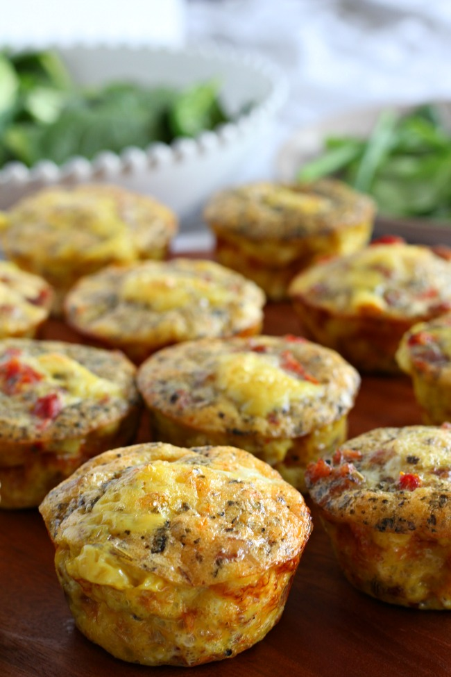 sausage pizza egg muffins2
