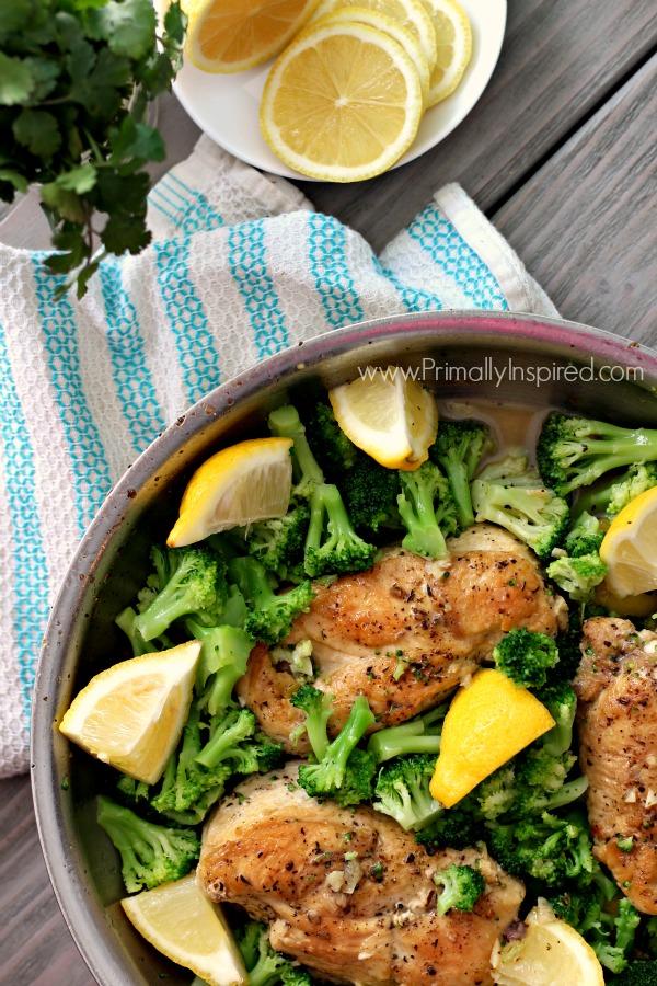 Lemon-Chicken-skillet
