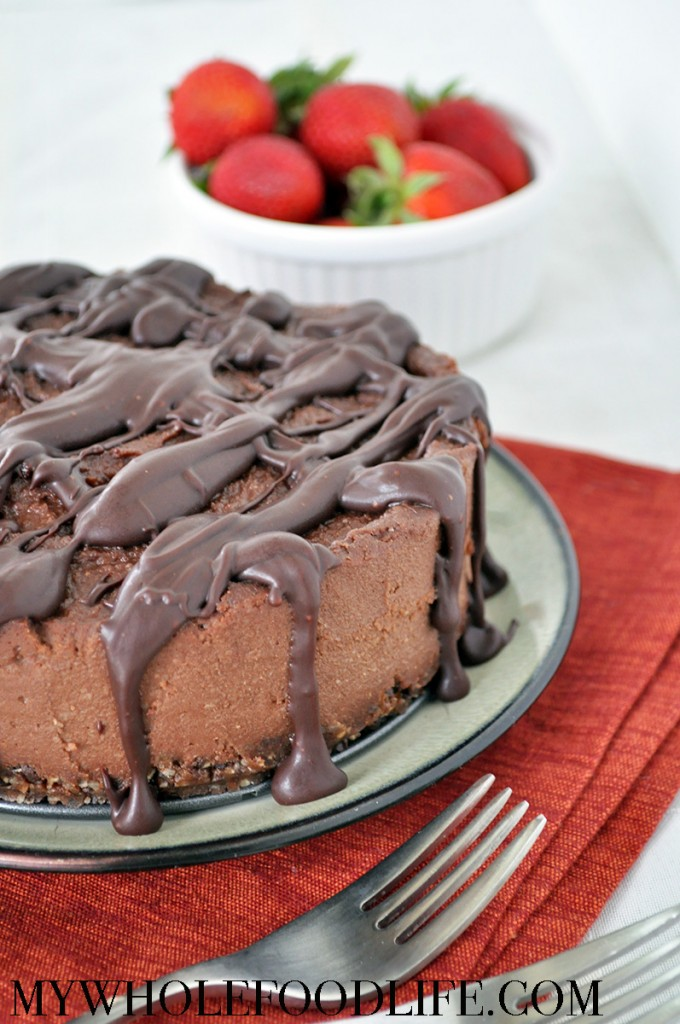 This Chocolate Coffee Cheesecake is rich, decadent and indulgent you ...