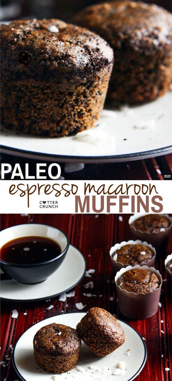 espresso macaroon muffins 2