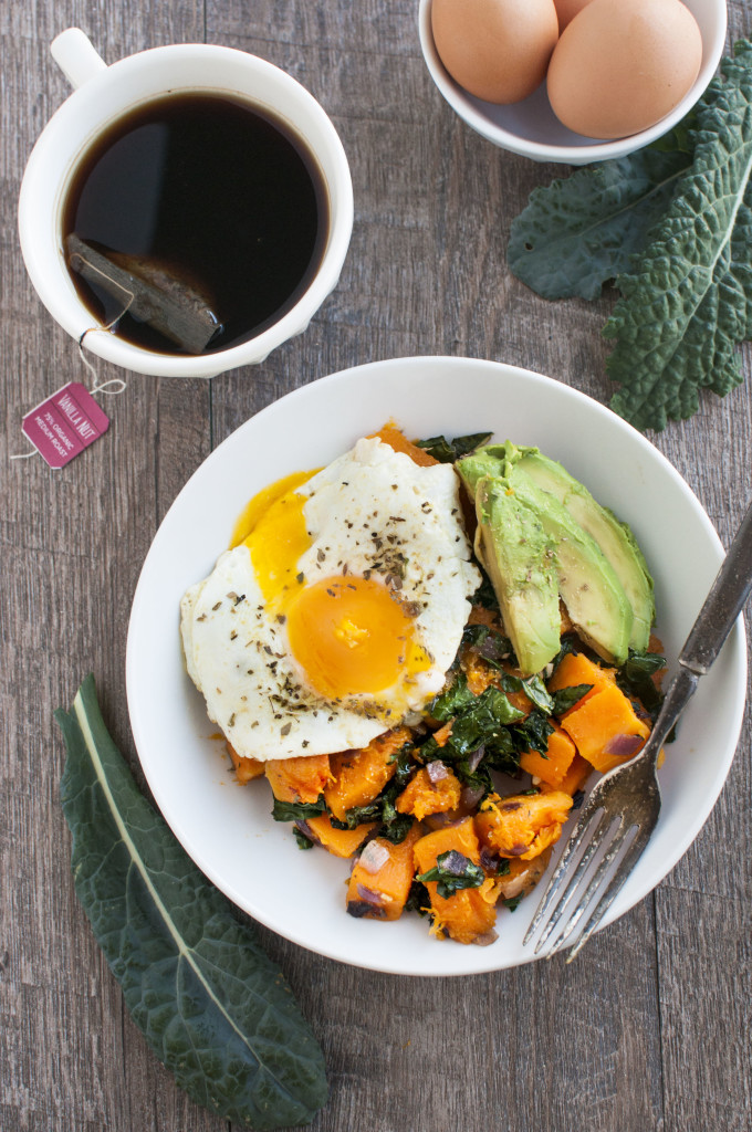 kale and butternut breakfast bowl 1