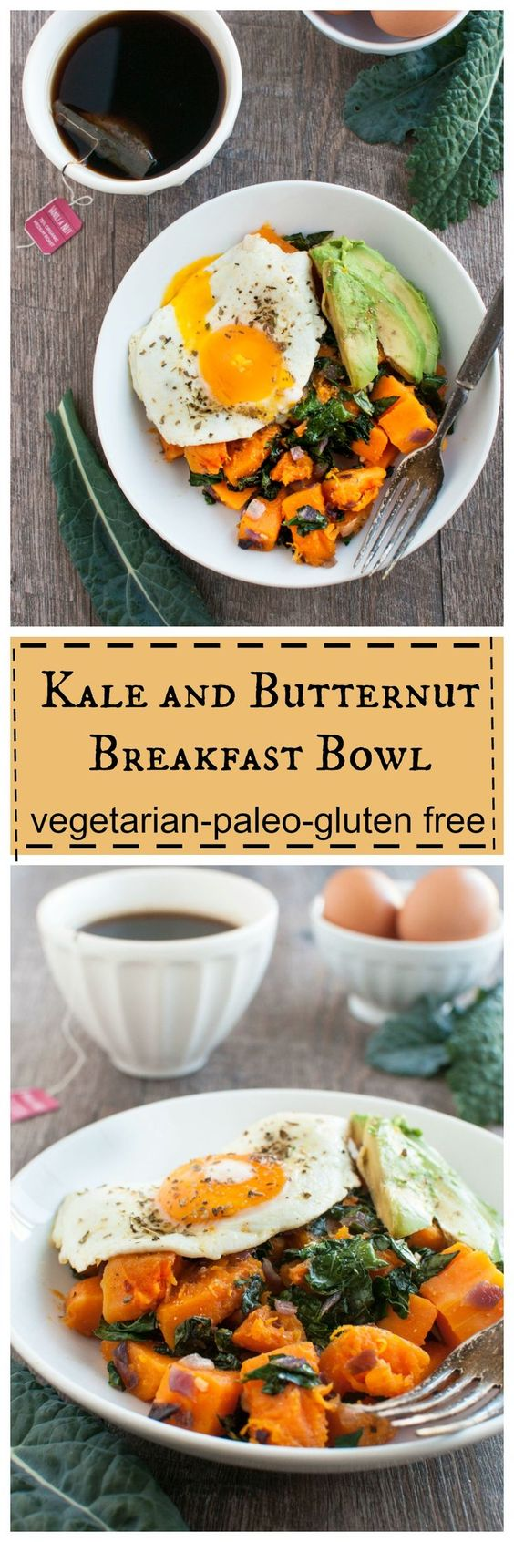 kale and butternut breakfast bowl 2