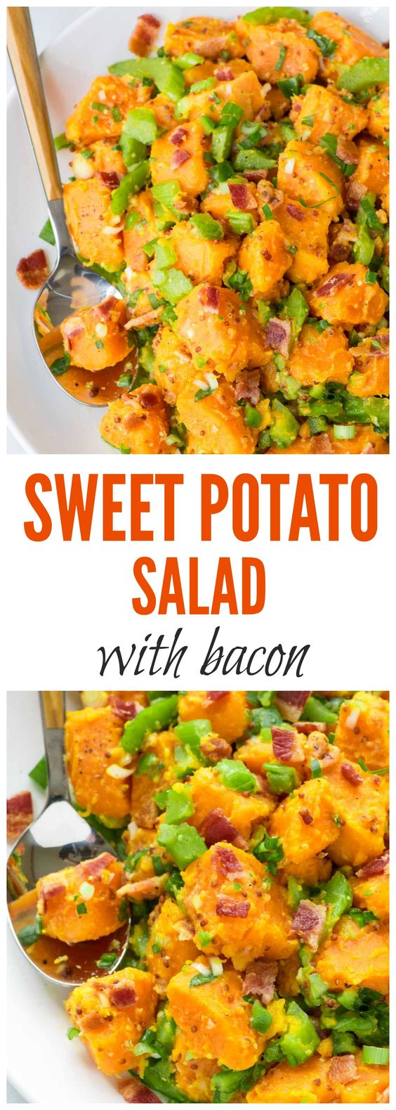sweet potato salad with bacon - paleo, gluten free