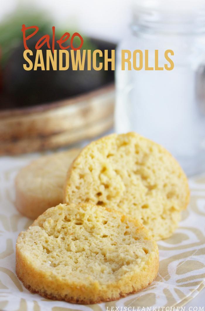 ultimate paleo sandwich rolls
