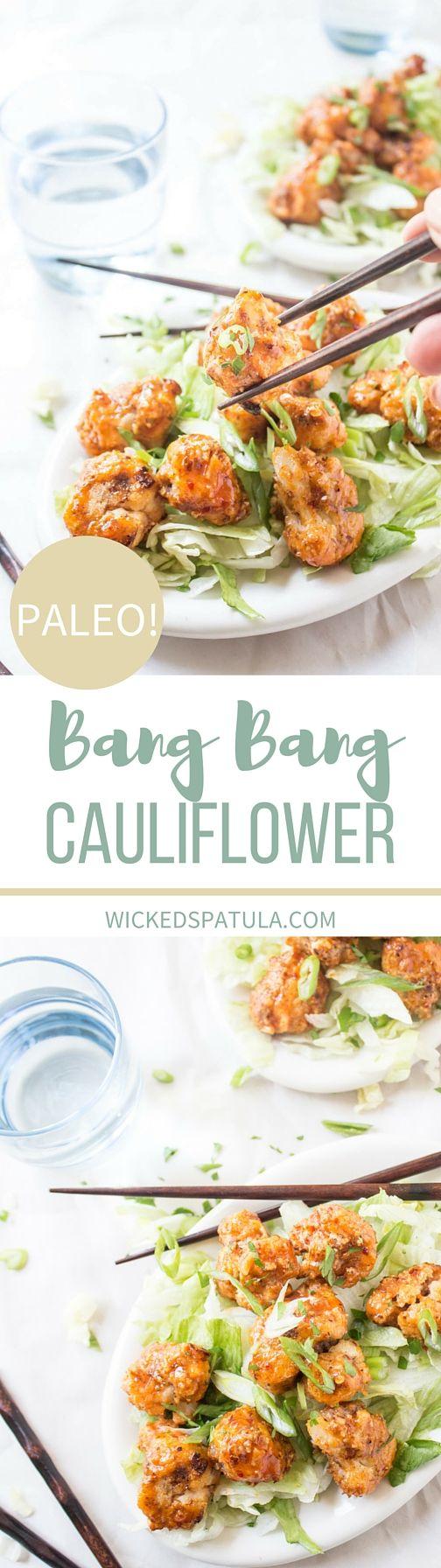 bang bang cauliflower - paleo, vegan, gluten free