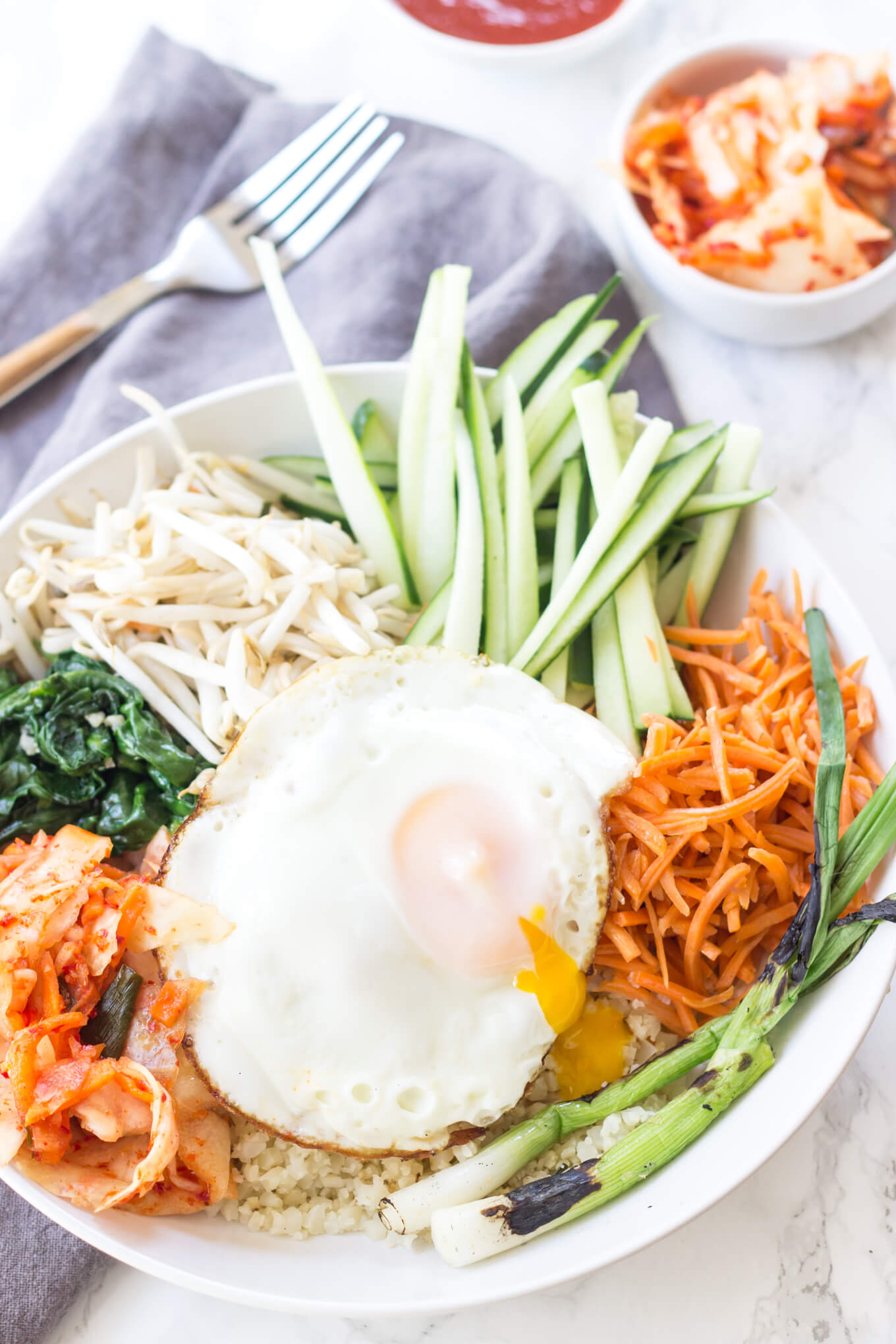 paleo korean bibimbap