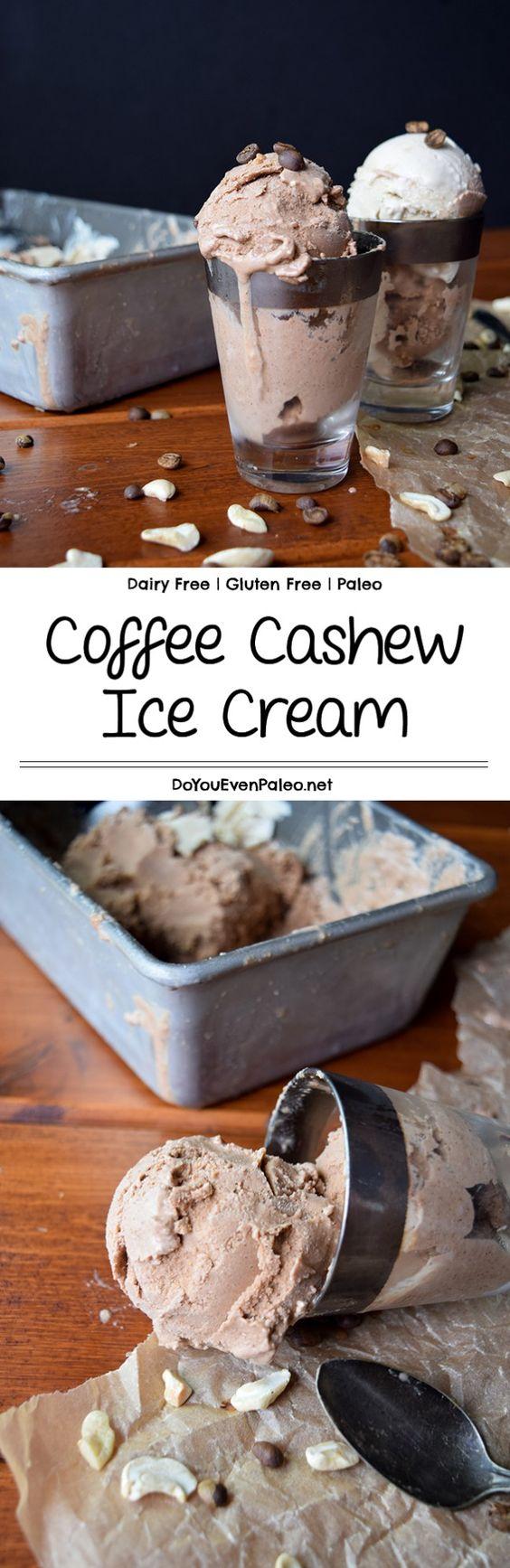 how to make cashew ice cream