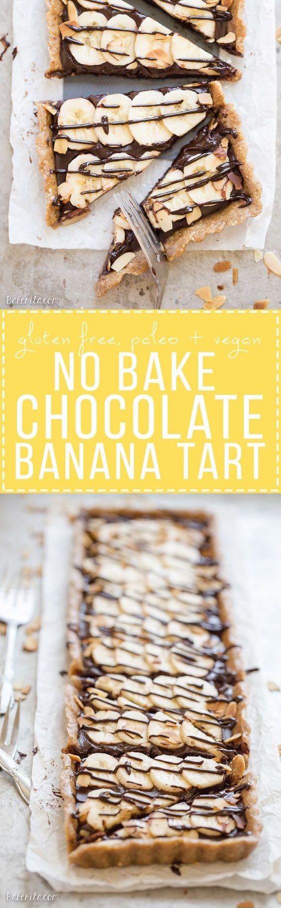 no-bake-chocolate-banana-tart-paleo-vegan-gluten-free