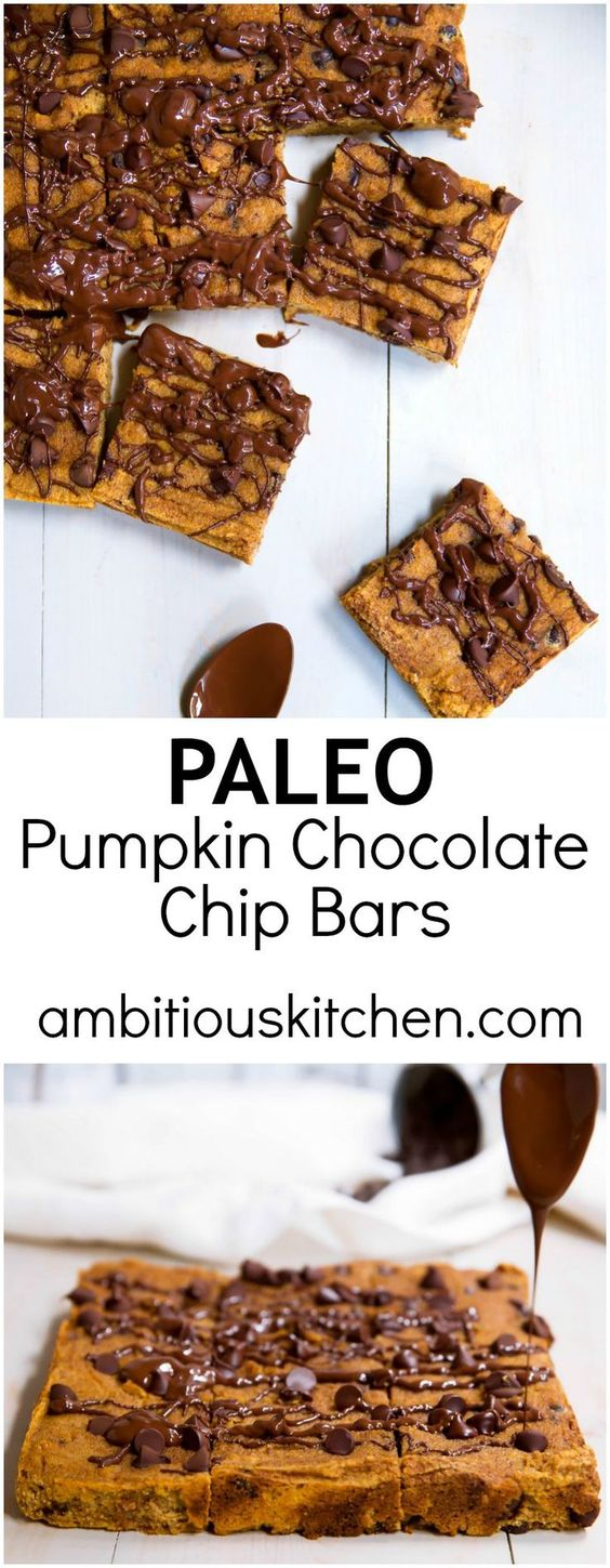 pumpkin-chocolate-chip-bars-paleo-gluten-free