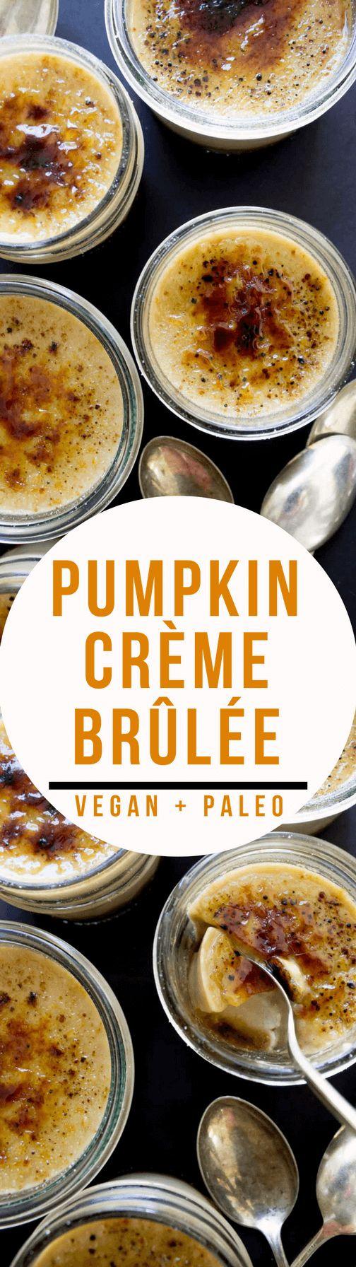pumpkin creme brulee paleo vegan natural holistic life. Black Bedroom Furniture Sets. Home Design Ideas
