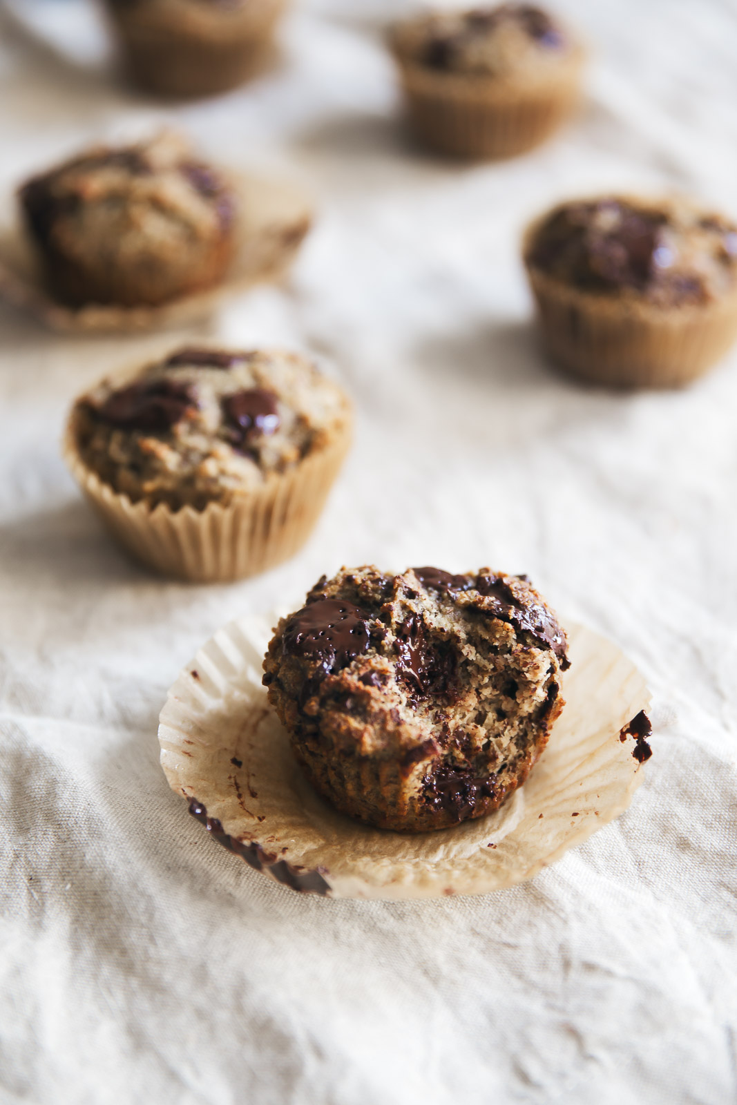 Paleo Flax Almond Meal Banana Muffins (Gluten Free) - Natural Holistic ...