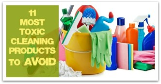 11 Most Toxic Cleaning Products to Avoid