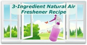 3-Ingredient Natural Air Freshener Recipe
