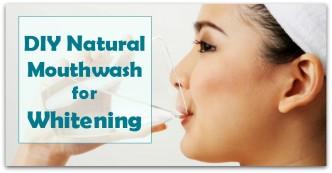 DIY Natural Mouthwash for Whitening